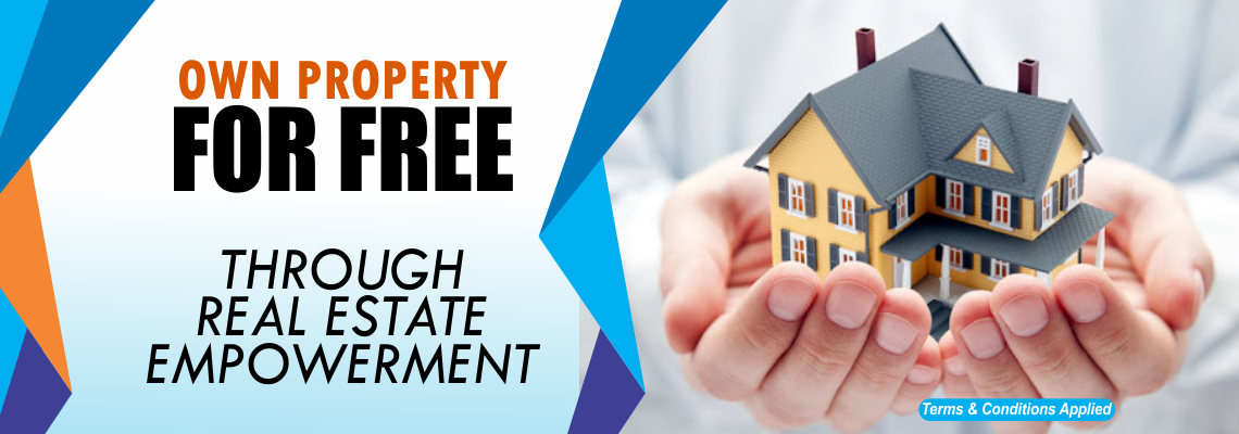 Own property for free